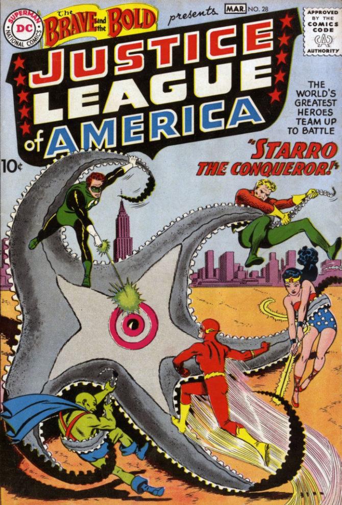 Prima storia della JLA