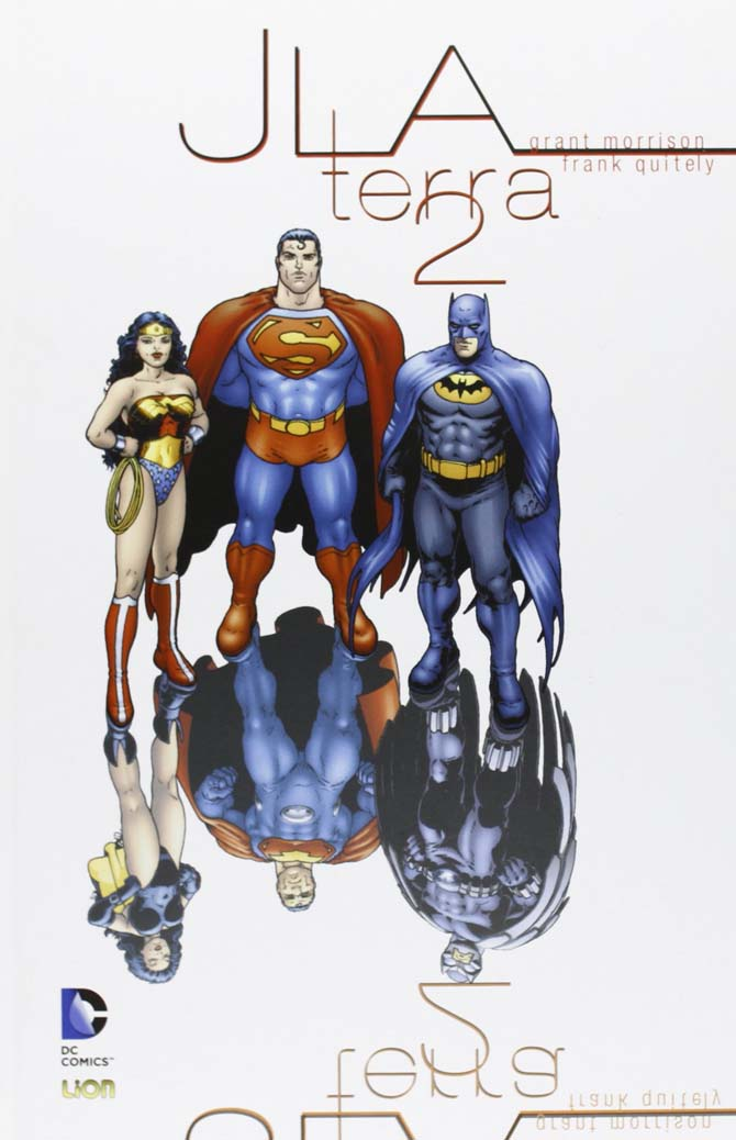 terra 2 justice league fumetti