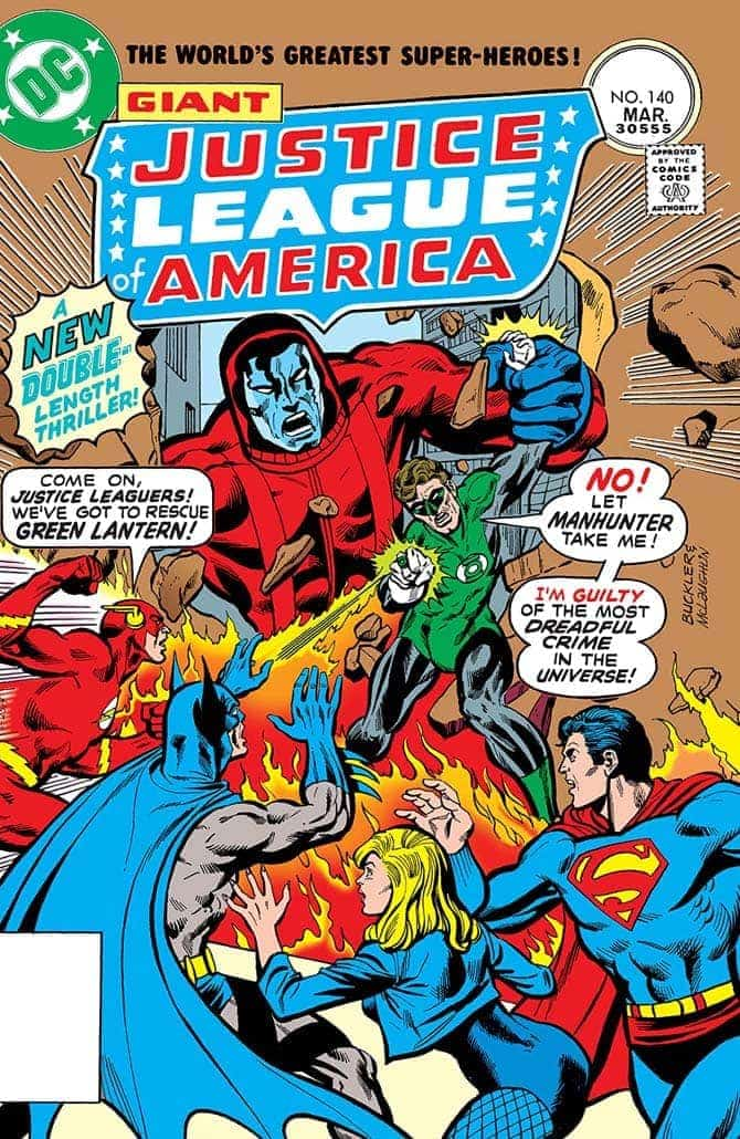 Steve Englehart justice league fumetti