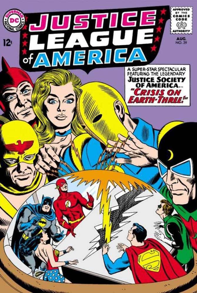 justice league fumetti