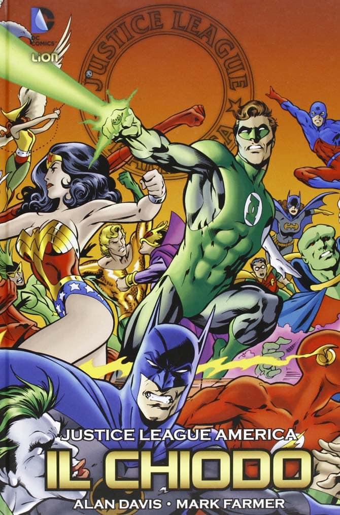 il chiodo justice league fumetti