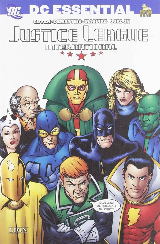 justice league international fumetti dc comics