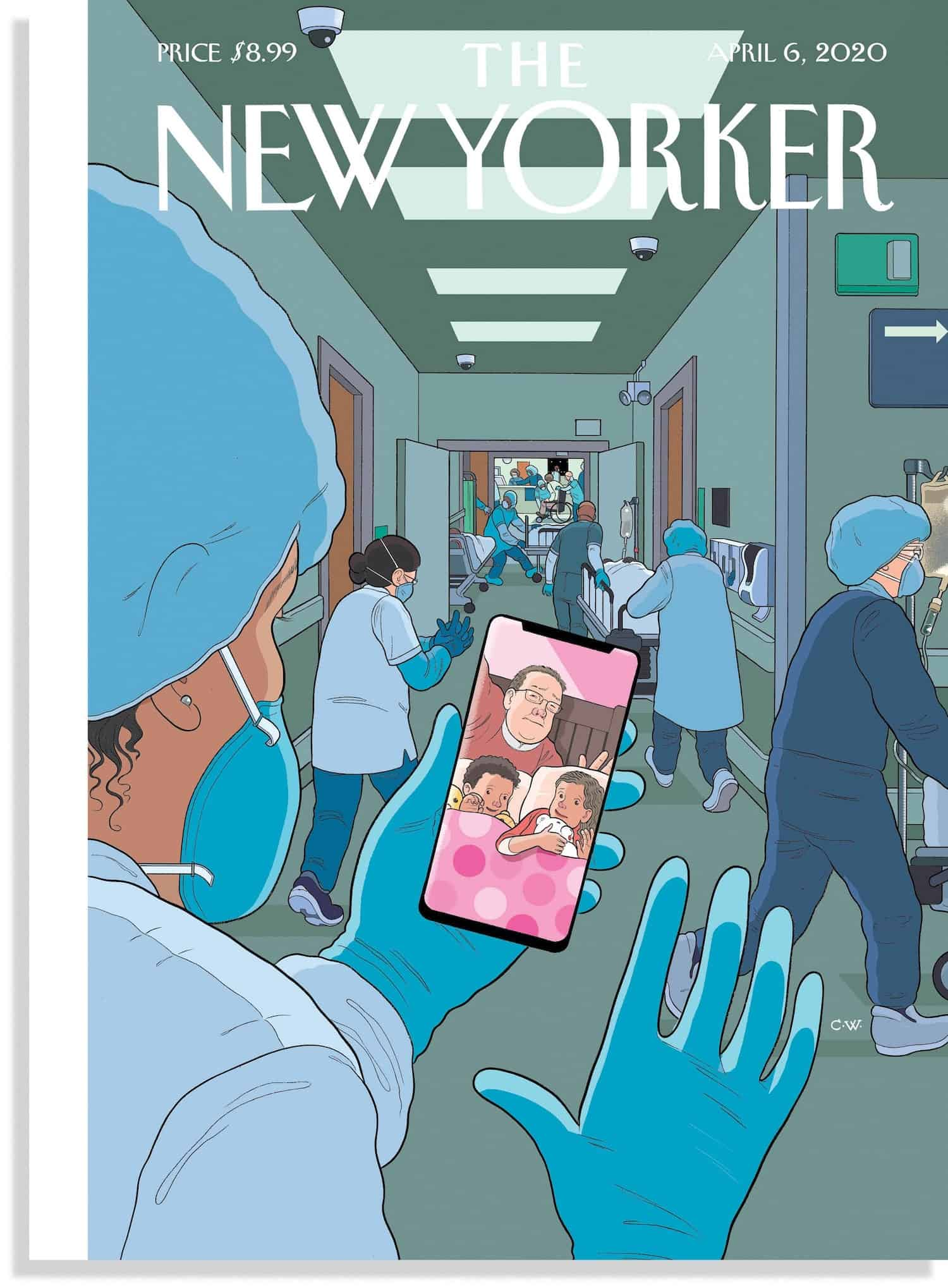 new yorker chris ware coronavirus