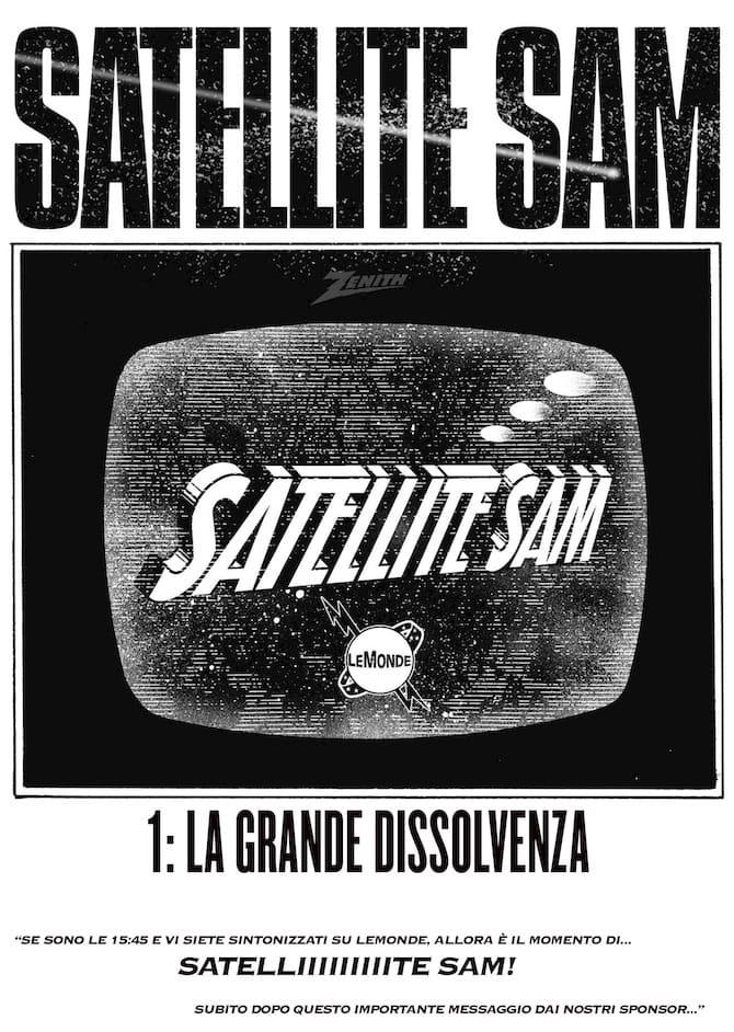 satellite sam fumetto