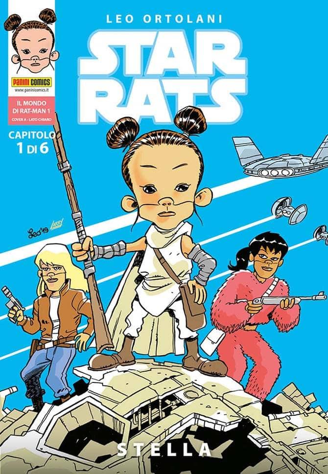 """Star Rats: Stella"""", la nuova parodia di Star Wars di Leo Ortolani -  Fumettologica"""