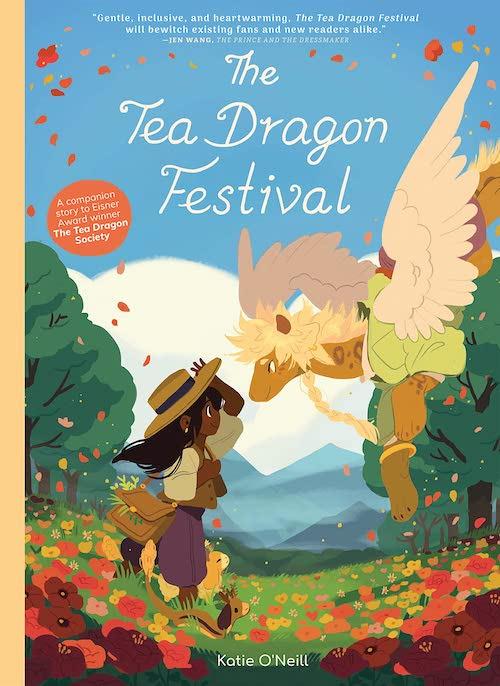 tea dragon festival migliori fumetti nuova zelanda