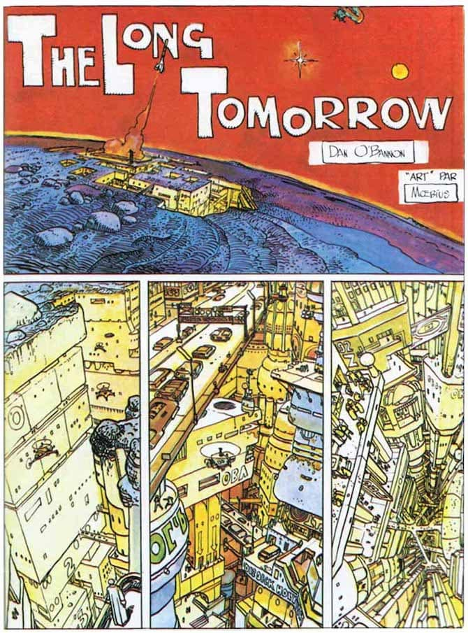 the long tomorrow moebius fumetto
