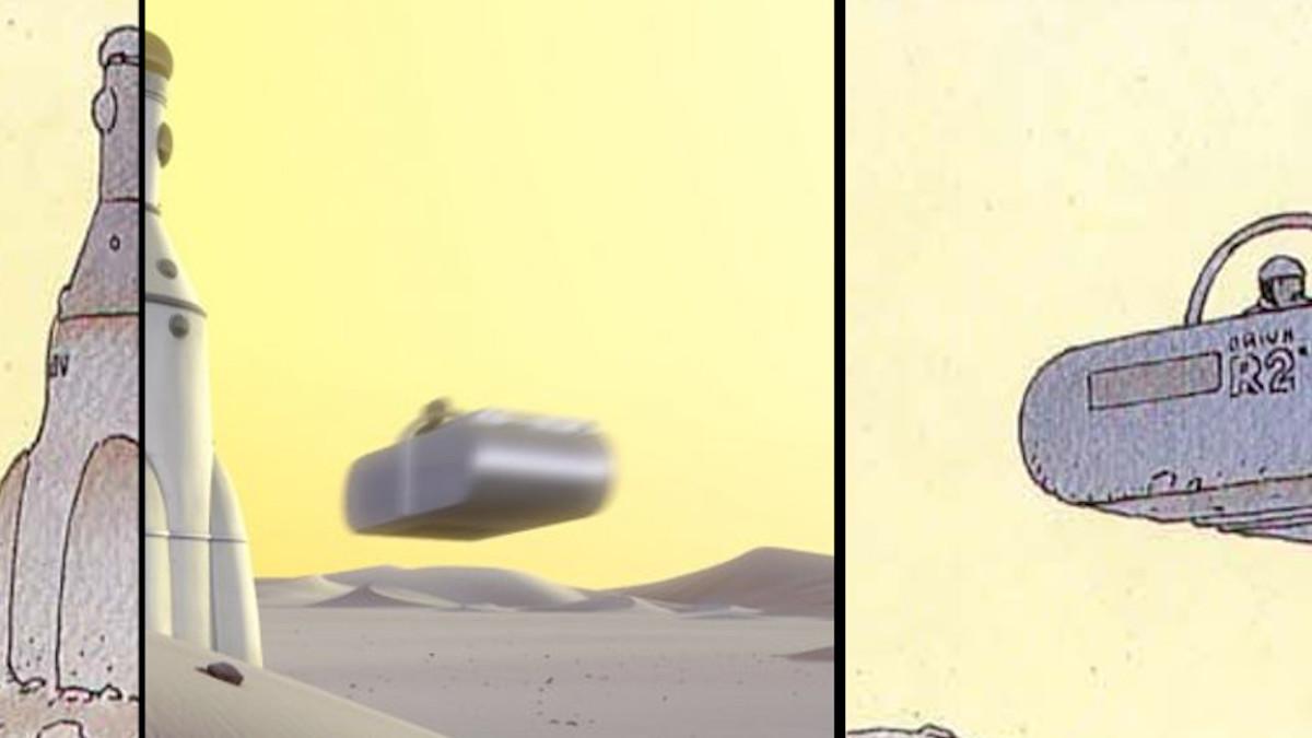 corto animato moebius La Planète Encore