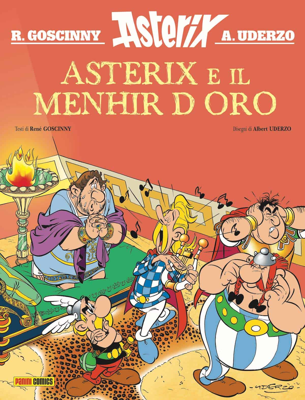 asterix Il Menhir d'oro