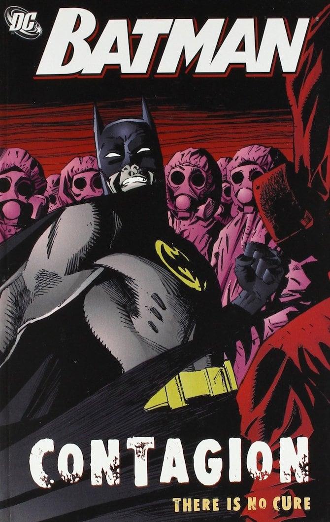 batman contagio fumetti virus