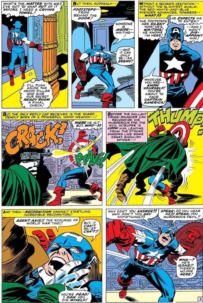 capitan america dc comics agente asse