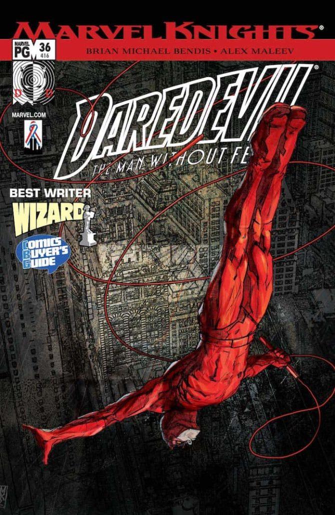 daredevil bendis fumetti 2001