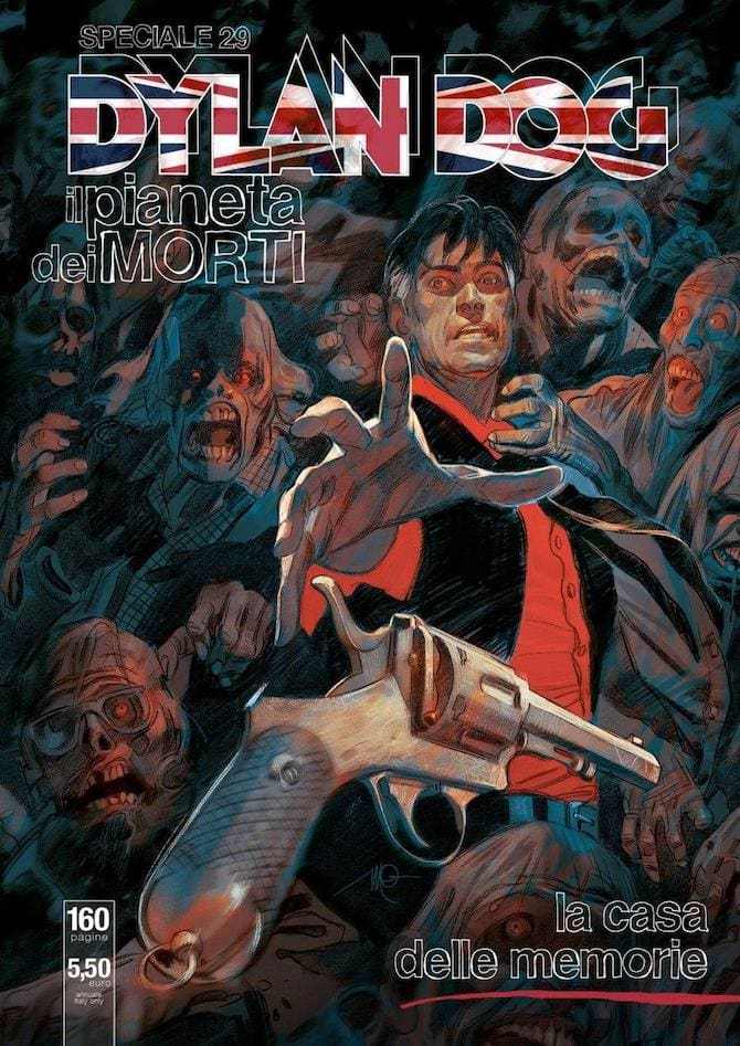 dylan dog pianeta dei morti fumetti virus
