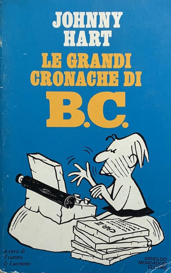 maicol mirco fumetti le cronache di b.c. johnny hart
