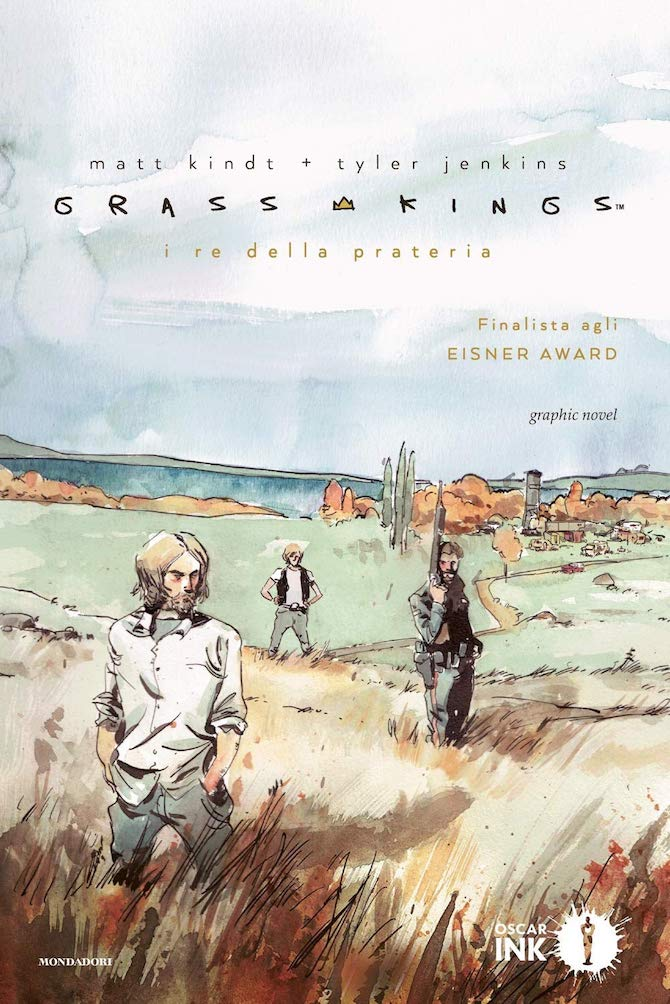grass kings fumetto