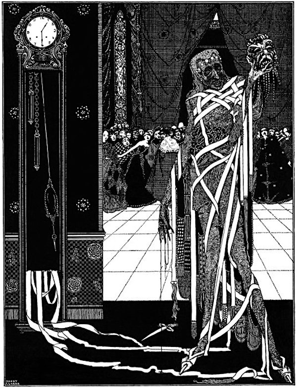 poe harry clarke racconti illustrati