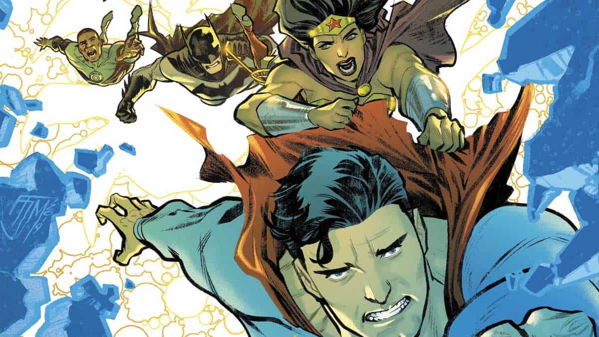 Justice League 44 dc comics fumetti nuovi distributori