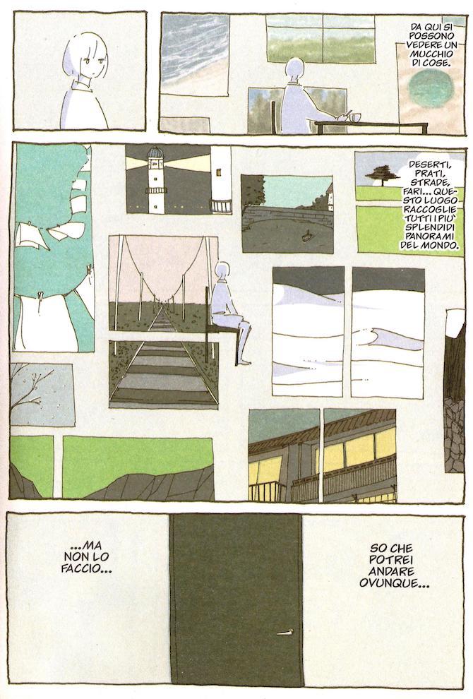 note dall'appartamento 107 case fumetti