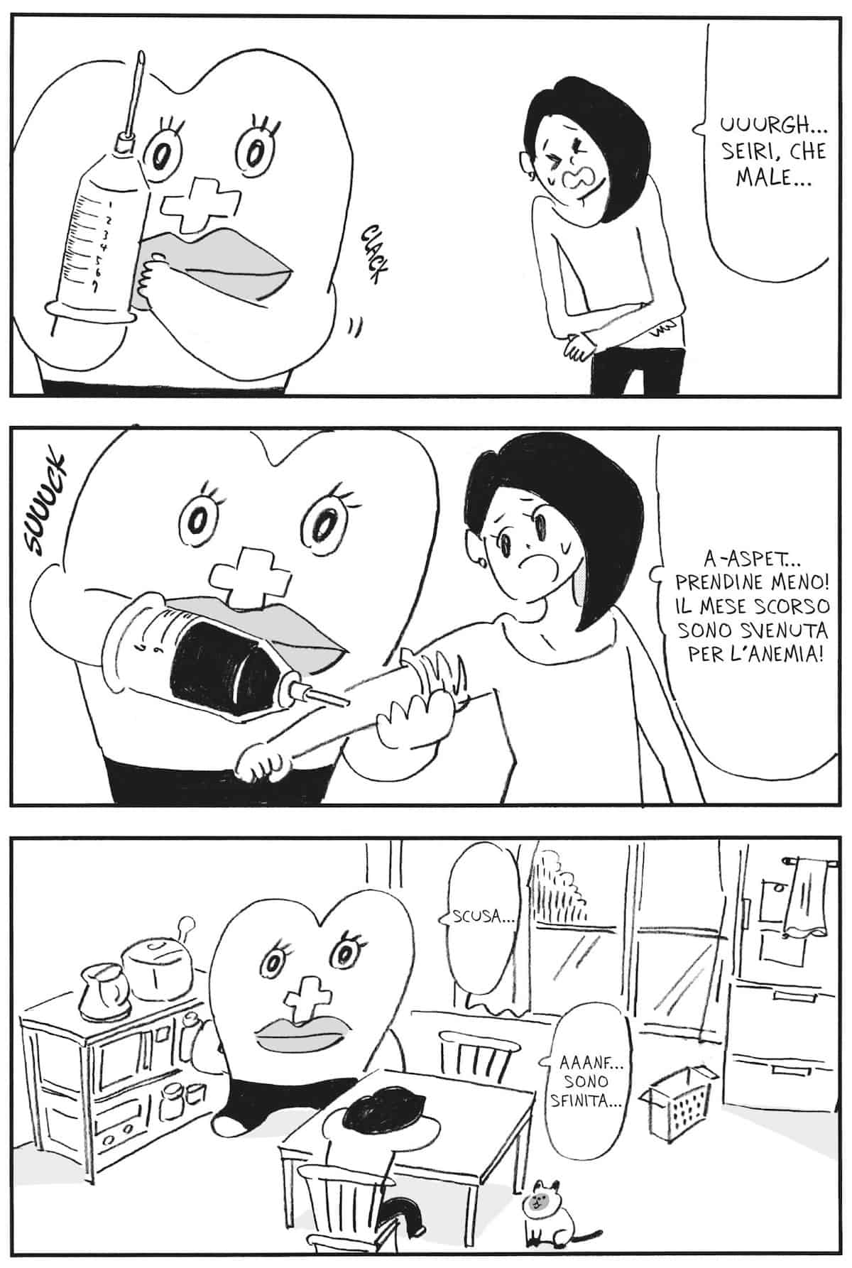 seiri chan manga mestruazioni