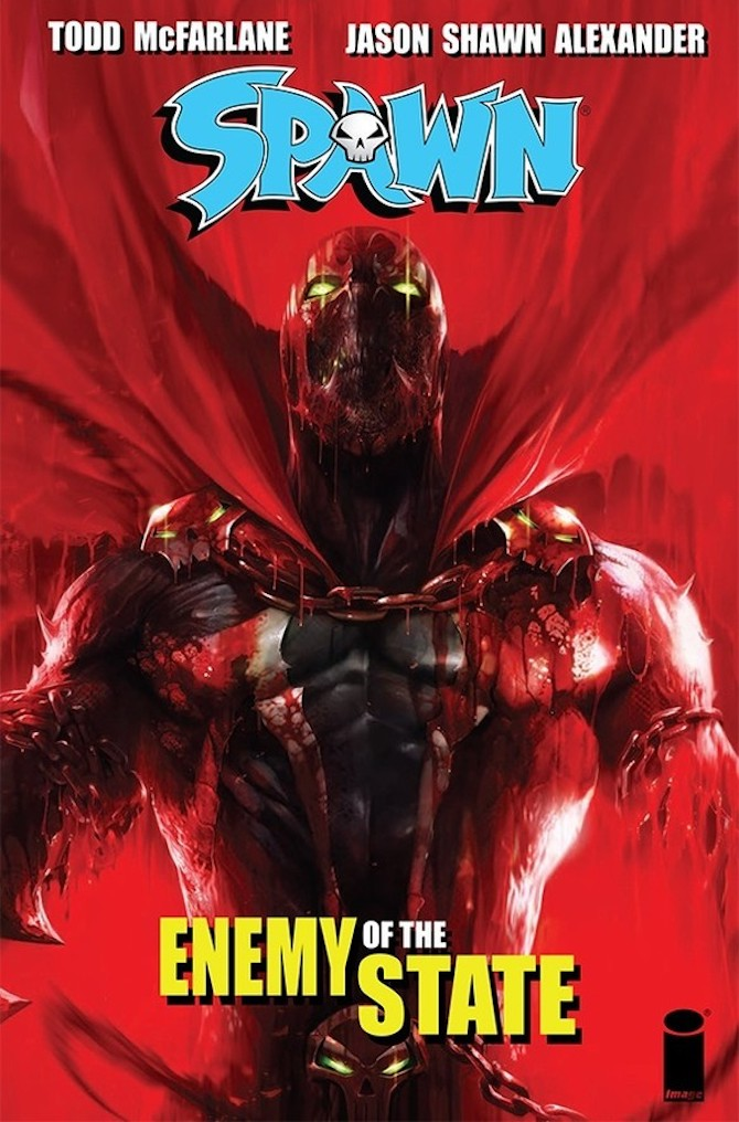 officina infernale fumetti spawn enemy of the state
