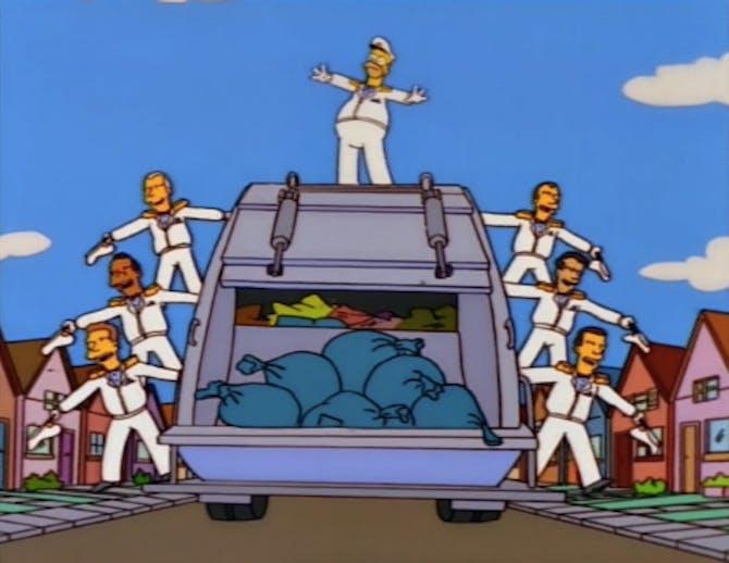 spazzatura fra titani migliori episodi simpson