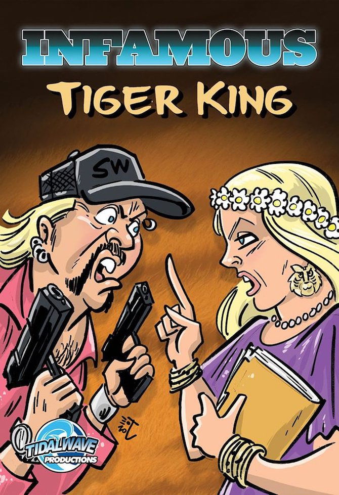 fumetto Tiger King