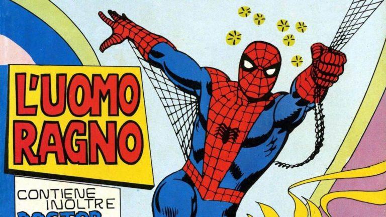50 anni fa, il primo fumetto dell'Uomo Ragno in Italia