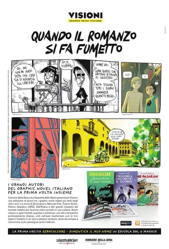 graphic novel gazzetta corriere
