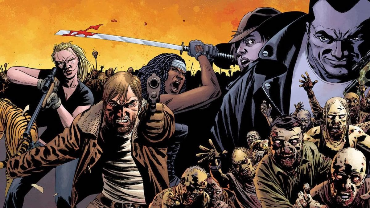 walking dead fumetti gratis saldapress