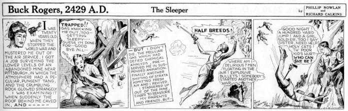 Buck Rogers strisce fumetti