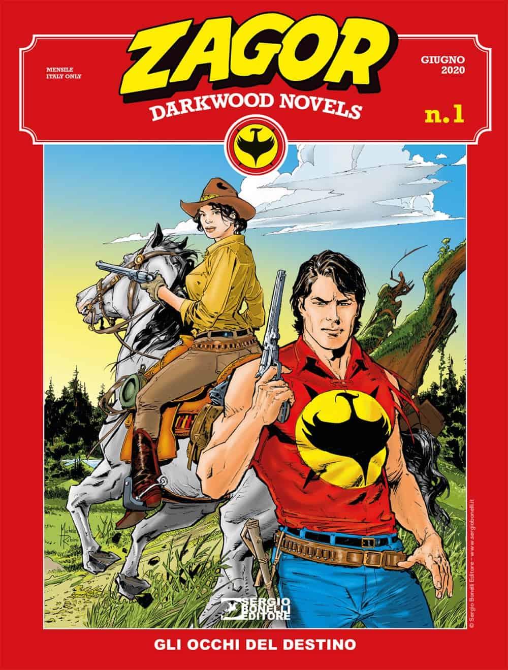 zagor darkwood novels bonelli