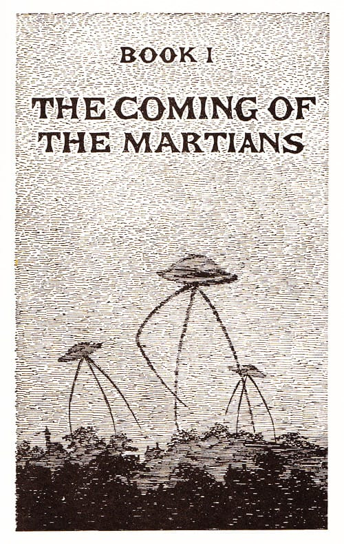 La guerra dei mondi Edward Gorey