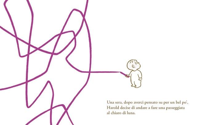 harold e la matita viola camelozampa