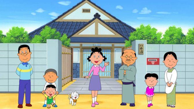 pausa sazae-san cartone animato