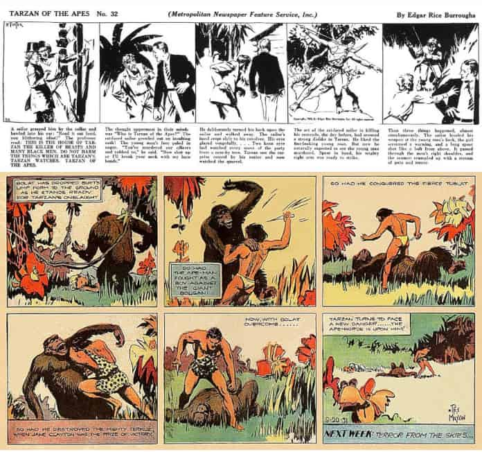 Tarzan di Hal Foster