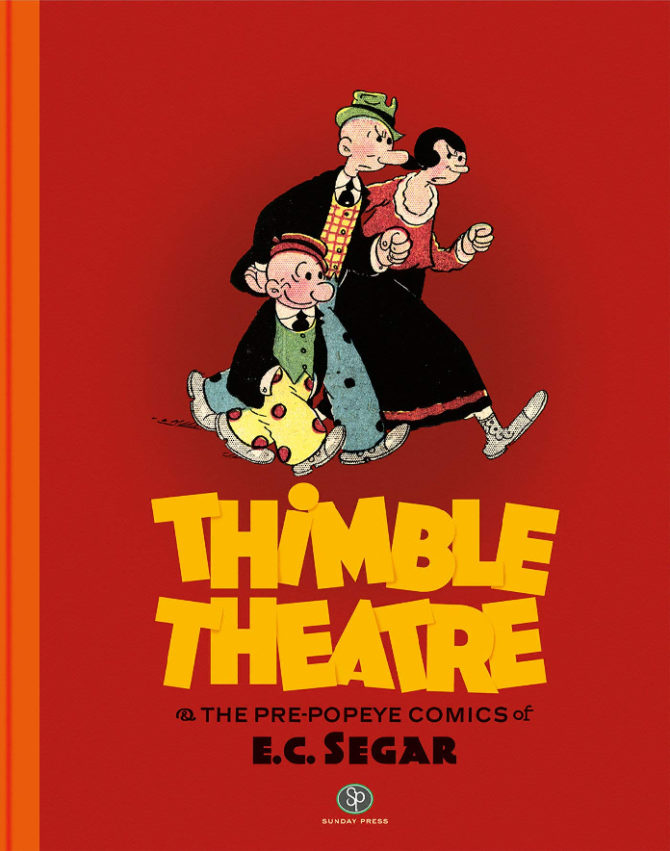 Thimble Theatre segar strisce fumetti