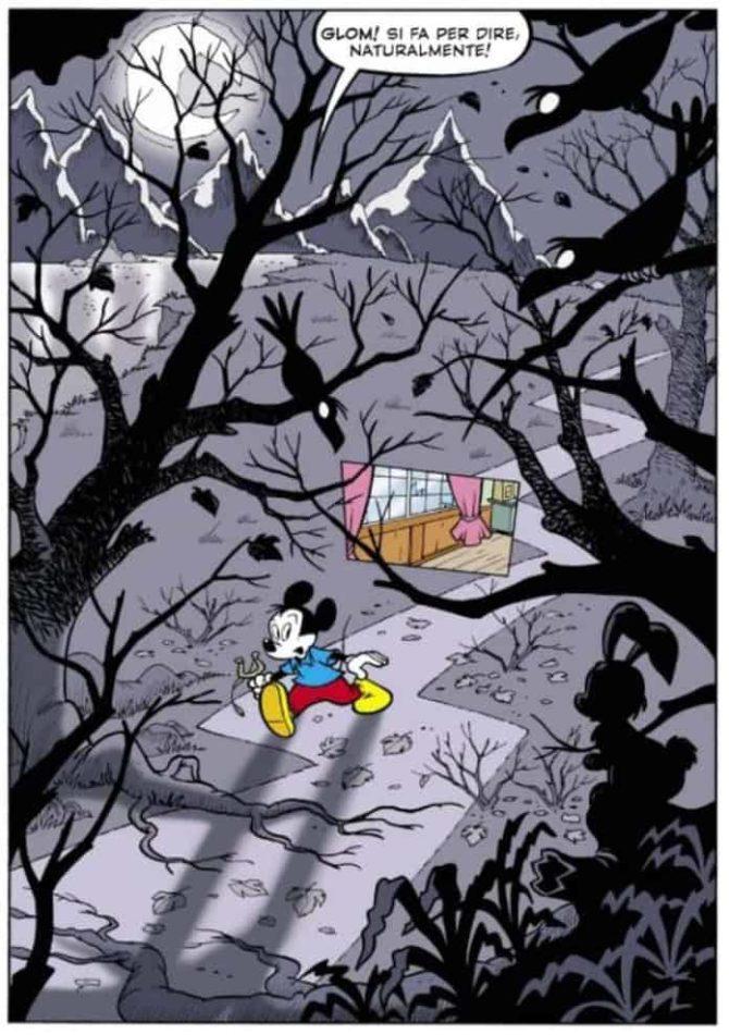 casty casa dei dipinti che fingono topolino