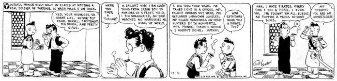 Wash Tubbs strisce a fumetti