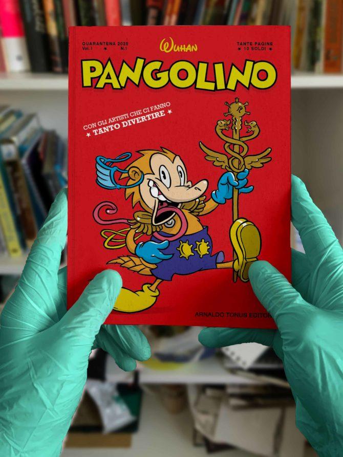 Pangolino mock up pandemia