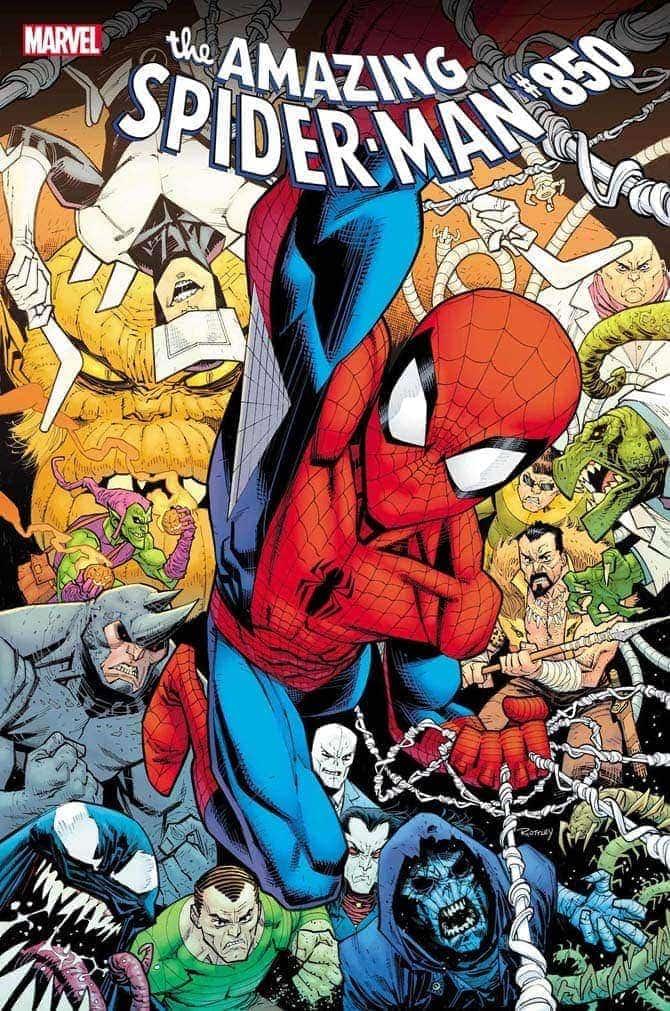 amazing spider-man 850 norman osborn goblin fumetto marvel