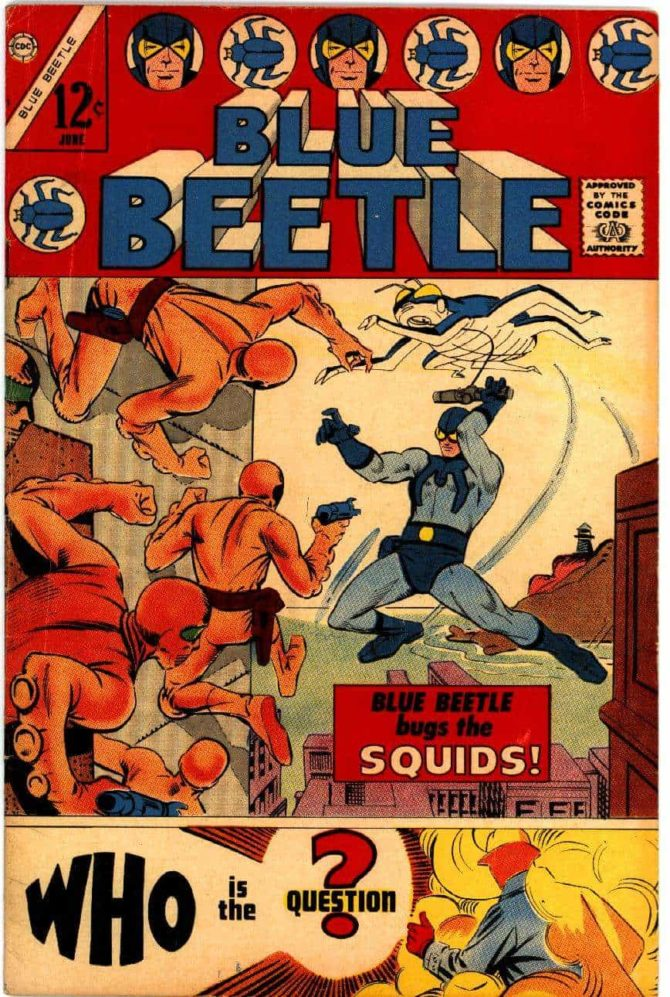blue beetle charlton comics