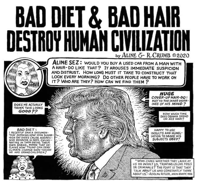 nuovo fumetto Robert Crumb