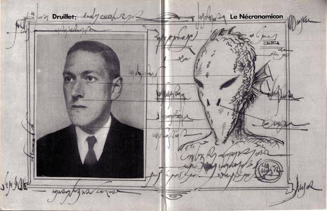 Necronomicon Philippe Druillet