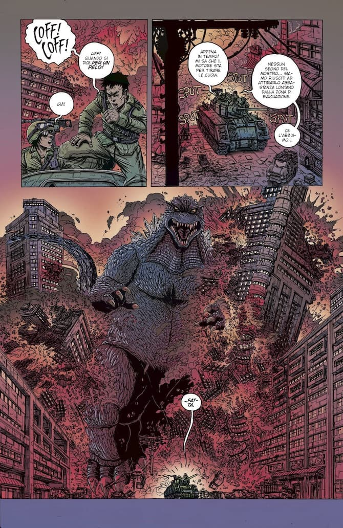 godzilla 50 anni james stokoe saldapress