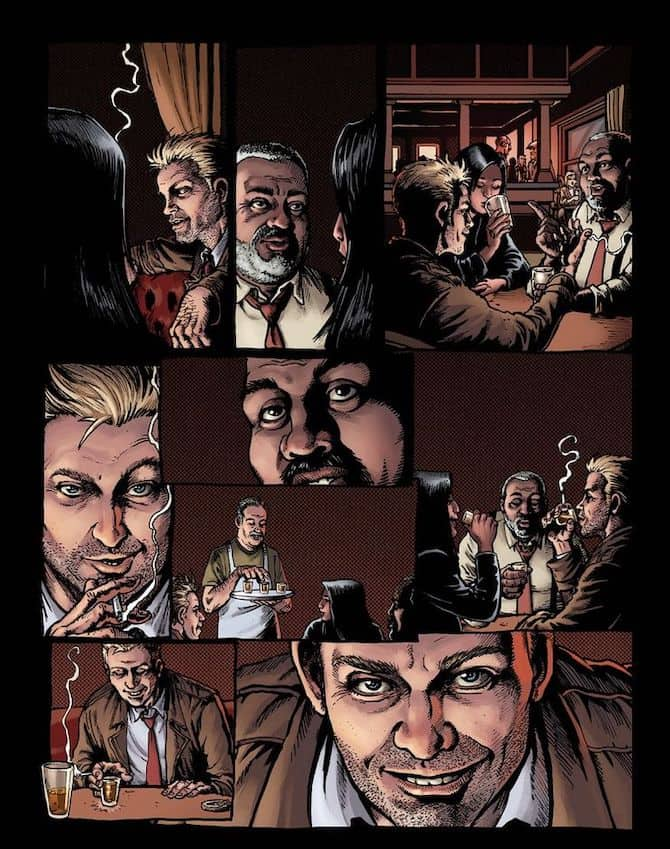 hellblazer rise fall dc comics