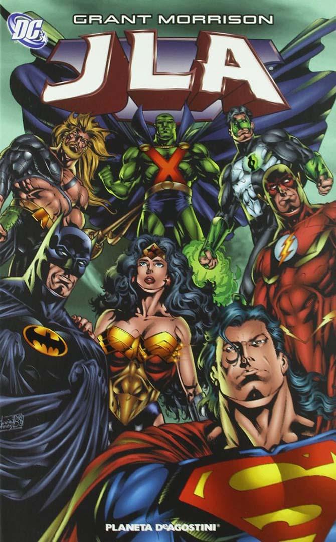 jla grant morrison migliori fumetti dc comics