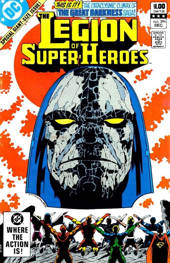 Legione dei Super-Eroi fumetti dc comics
