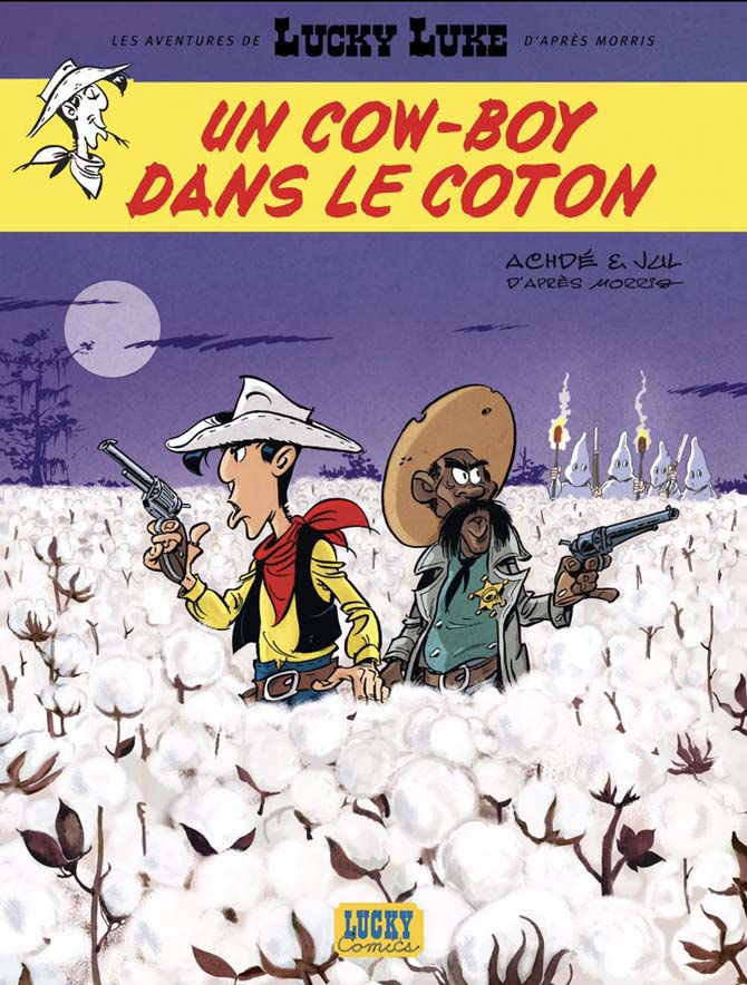 lucky luke un cow-boy dans le coton