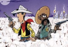 lucky luke cow-boy dans le coton