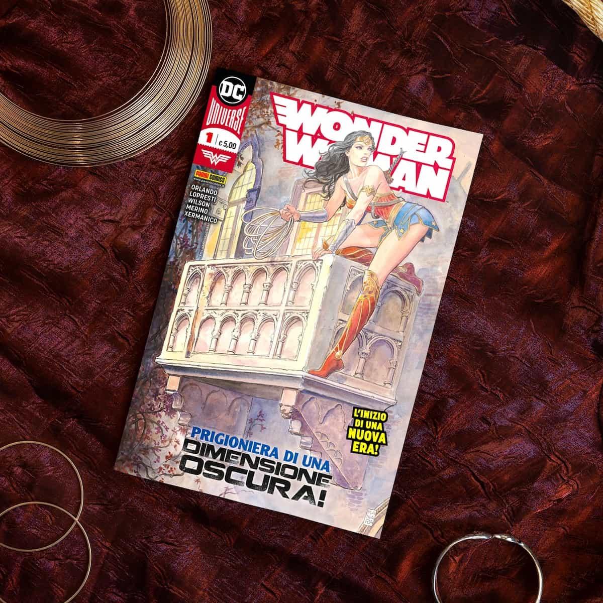 milo manara wonder woman panini comics dc